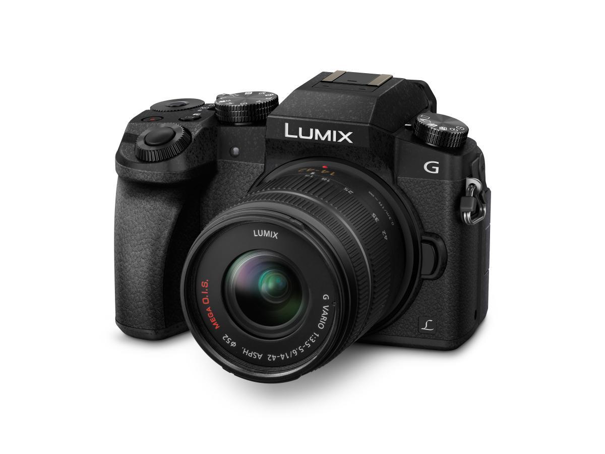 Panasonic Lumix G70kaegk Fs14042 Produktbild Slant 1487248750.4038